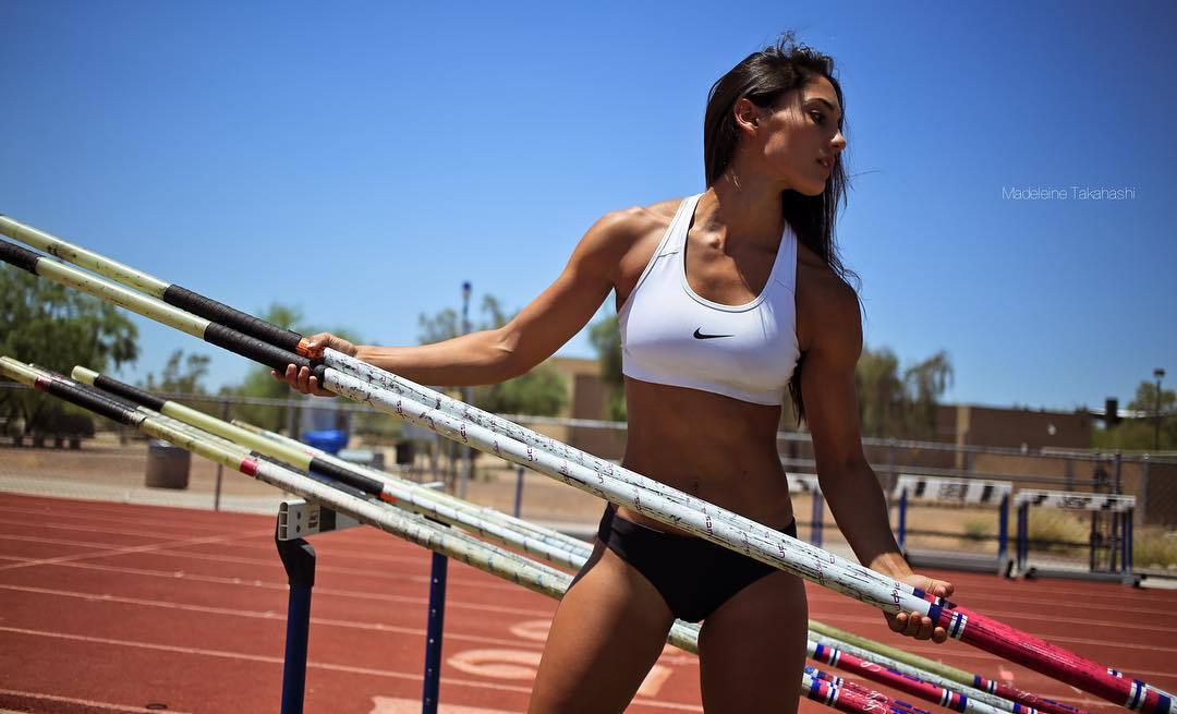 Allison Stokke. Atletismo, EEUU.