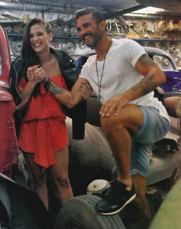 Barbie Vélez y Fabián Cubero,
