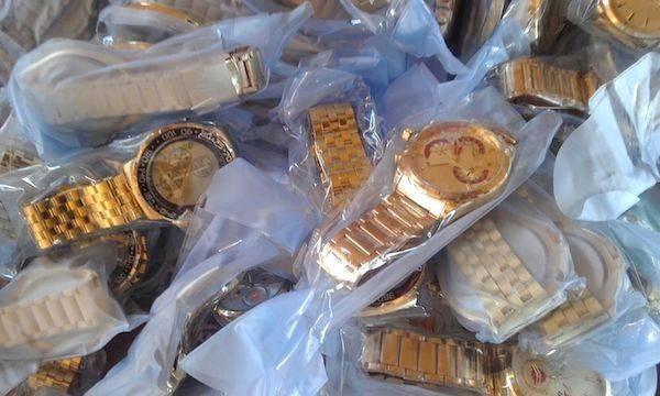 relojes contrabando