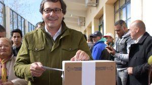 San Juan. Elecciones 2017.PASO. Ruben Uñac, candidato oficialismo